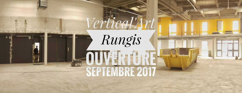ouverture de la salle d'escalade de bloc de rungis / restaurant / bar / blocs / grimpuse / maelys agrapart / prises d'escalade / escalade en salle Val de Marne