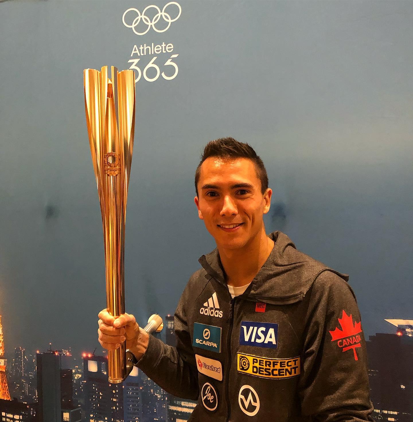 Sean McColl membre de la team Vertical'art sélectionné pour les - JO - Jeux olympiques de Tokyo en 2020 - escalade de bloc