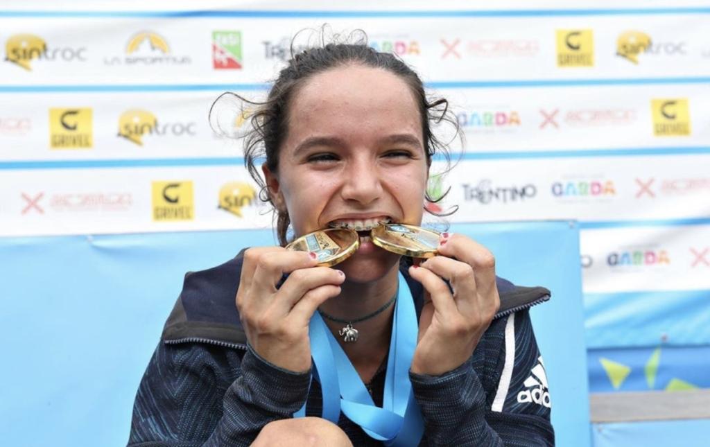 Oriane Bertone - Championne du monde jeune 2019 -Team Vertical'Art- Equipe de France