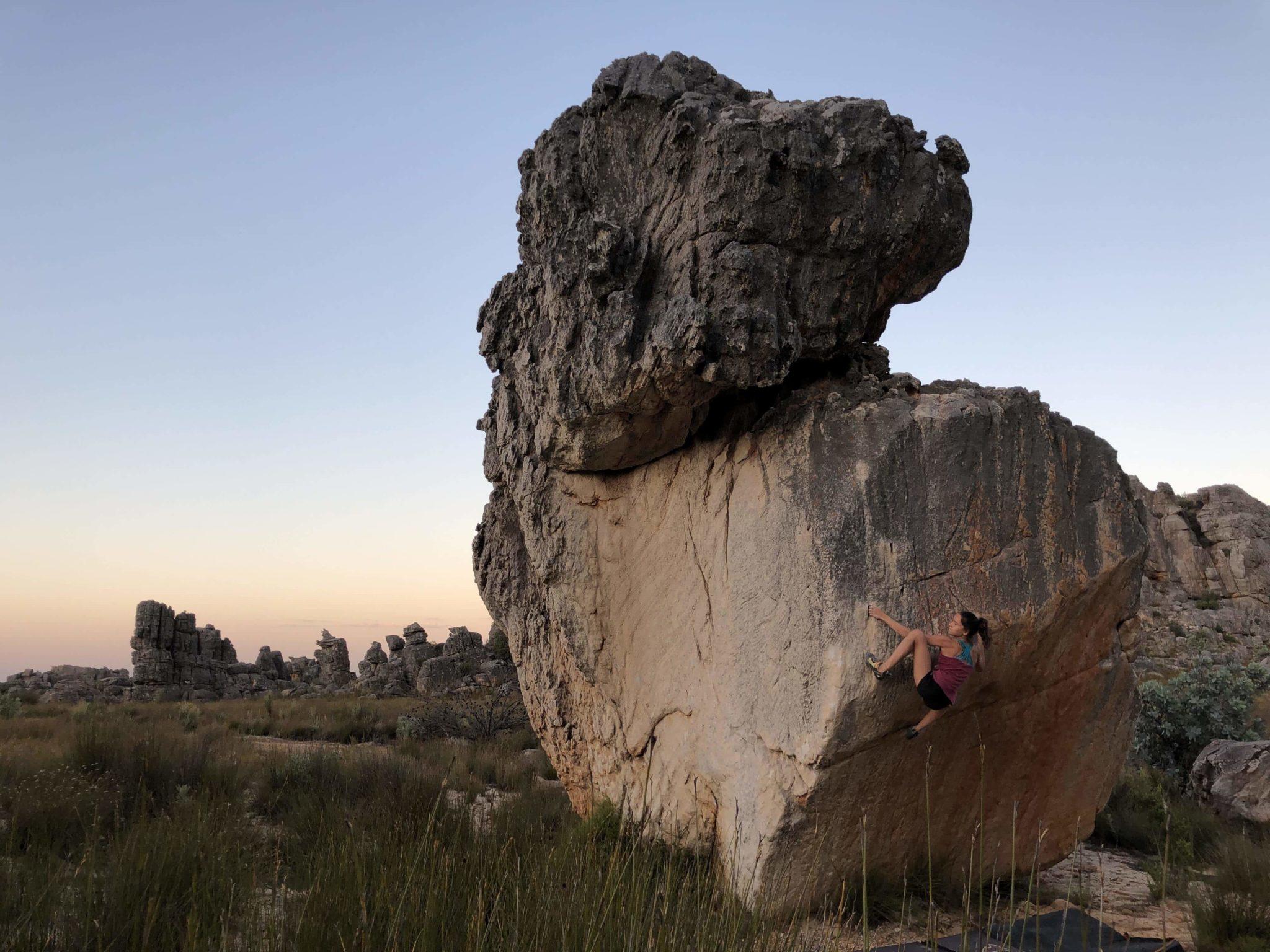 Rockland Oriane Bertone- Team Vertical'Art- espoir equipe de France - Afrique- Afrique du Sud