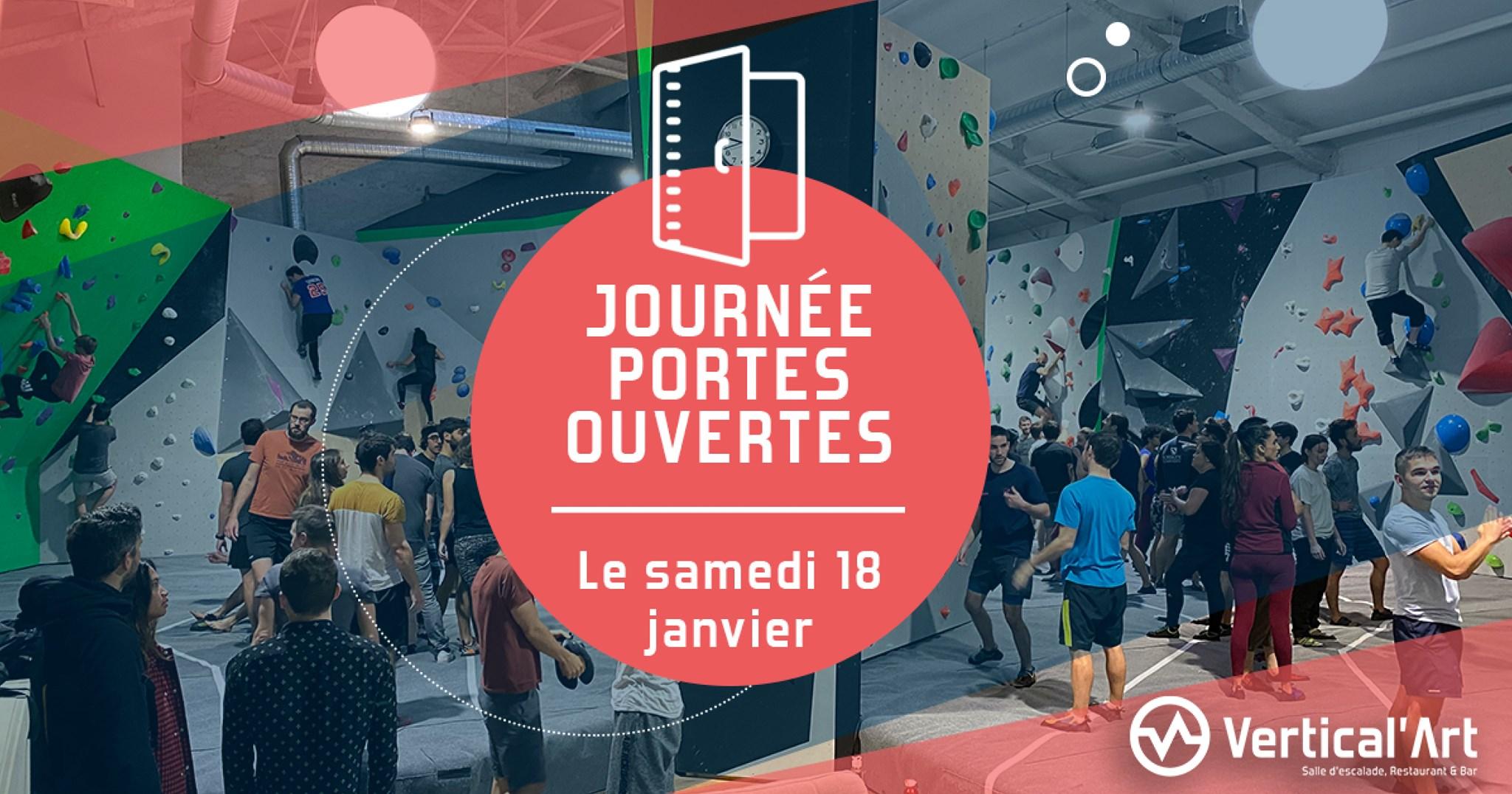 Journée porte ouverte Paris Pigalle - Nouvelle Année nouvelle Activitée- Vertical'art salle d'escalade de bloc à paris -