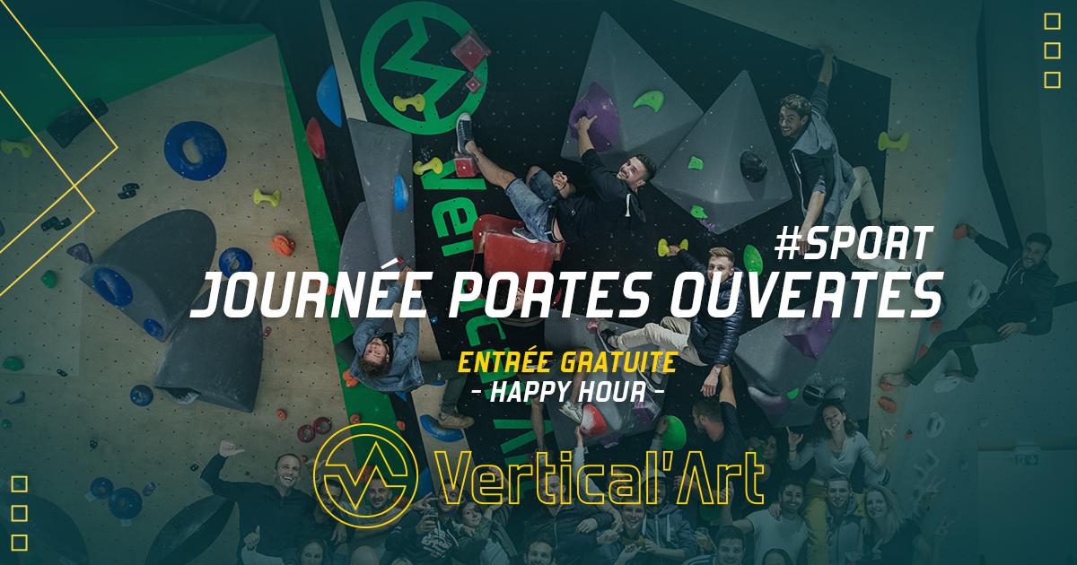 journée Portes ouvertes dans l'ensemble des Vertical'Art - Paris Pigalle - Saint-Quentin-En-Yvelines-en-yvelines - Nantes - Lyon - Lille - Toulon - Rungis - entrée gratuite - salle d'escalade - restaurant et bar