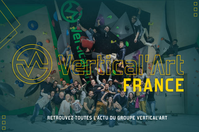l'actu du groupe Vertical'Art sur notre page Facebook, news et performances de nos athlètes, partenariats, nouvelles ouvertures de salles