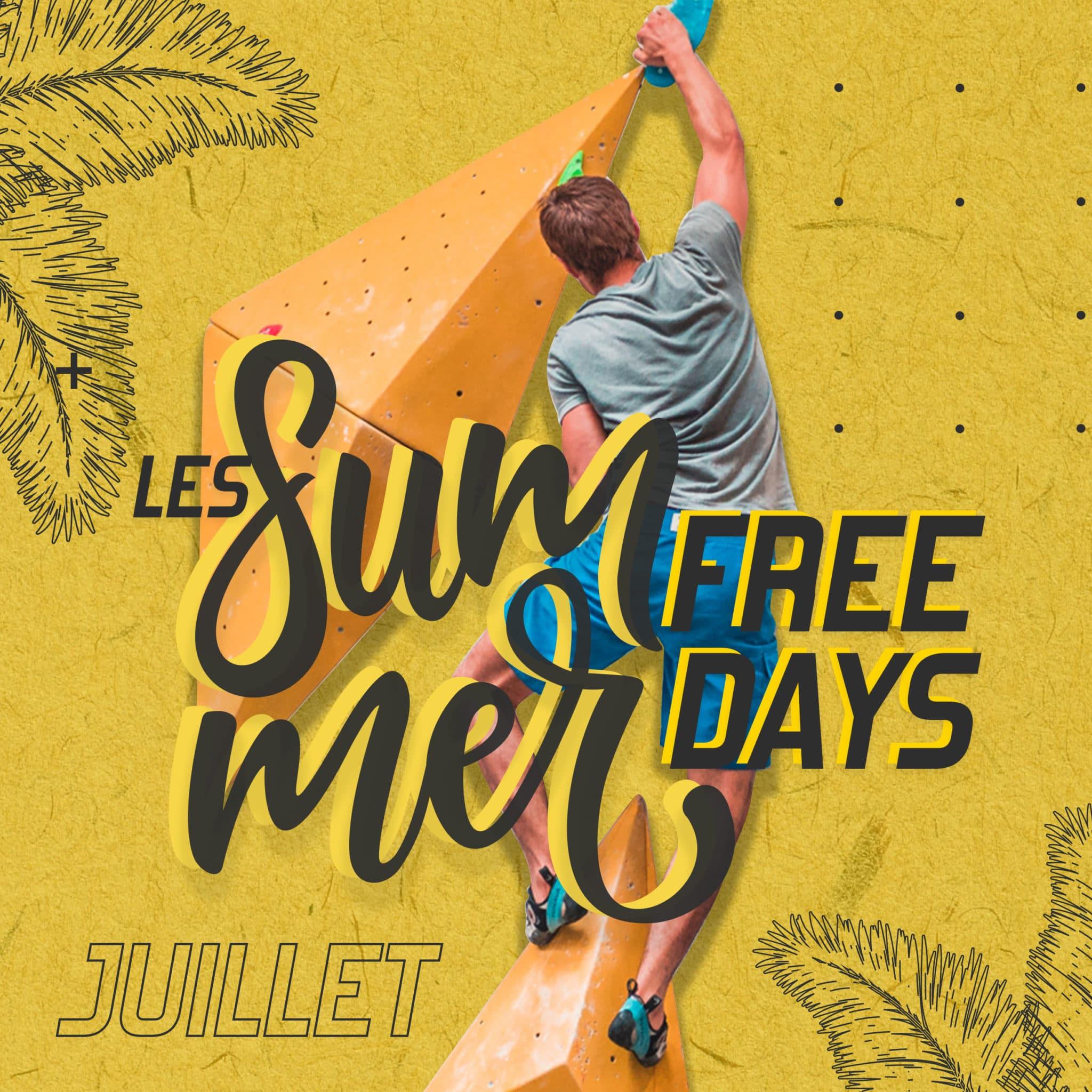 journée gratuite chez vertical art - juillet - free climbing - salle d'escalade - restaurant et bar