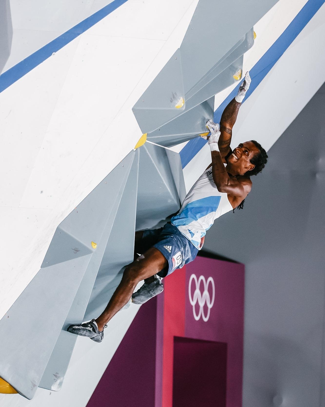 Bilan des Jeux Olympiques d'escalade 2021, Micka Mawem (en photo) termine 5ème de la finale du combiné